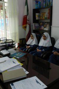 جلسه ی اعضای شورای دانش آموزی